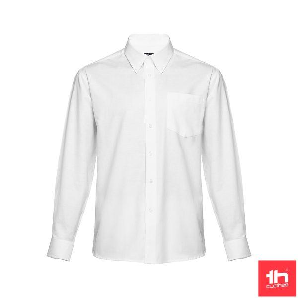 Camisa oxford de manga comprida para homem