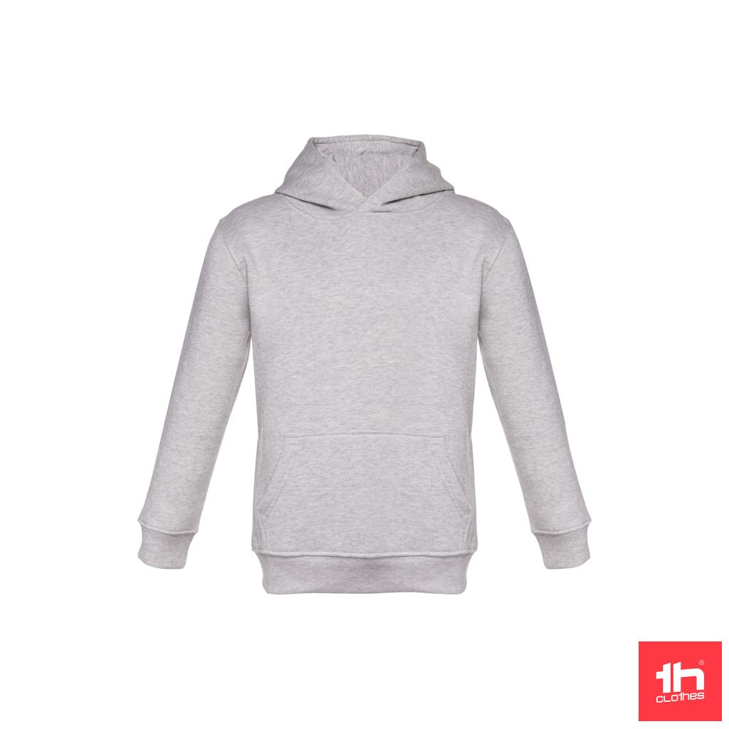 Sweatshirt unissexo com capuz para criança