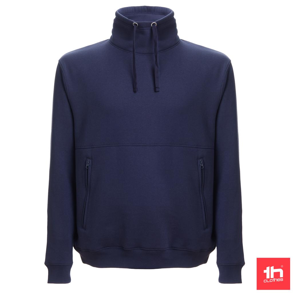 Sweatshirt com capuz em tafeta (capuz embutido na gola)