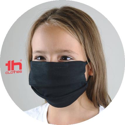 Máscara comunitária para criança reutilizável certificada