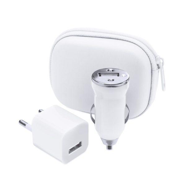 Set Carregador USB Canox