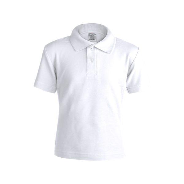 """Polo Criança Branco """"keya"""" YPS180"""