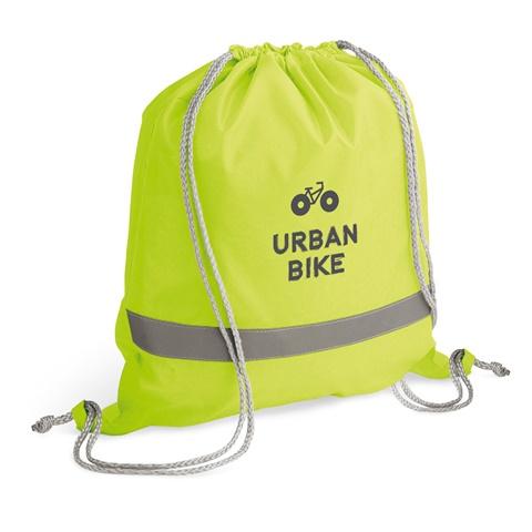 Saco tipo mochila em 210D RULES