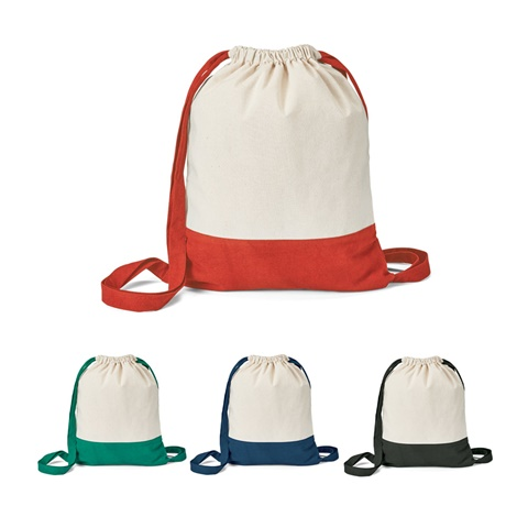 Saco tipo mochila 100% algodão ROMFORD