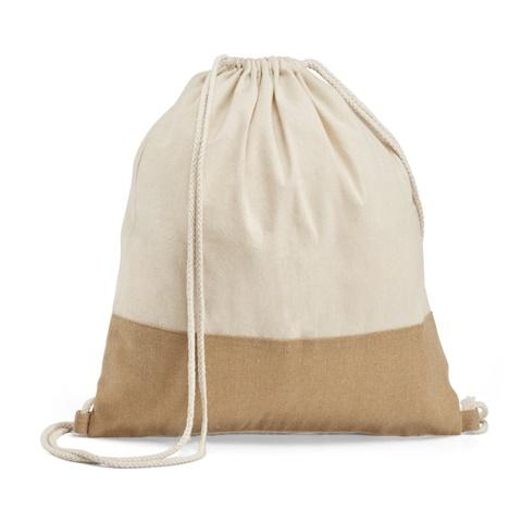 Saco tipo mochila 100% algodão SABLON