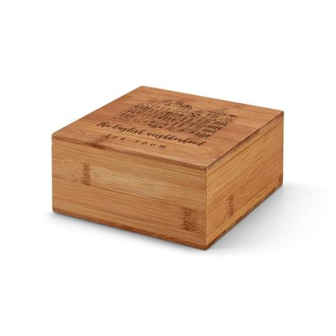 Caixa de chás em bambu ARNICA